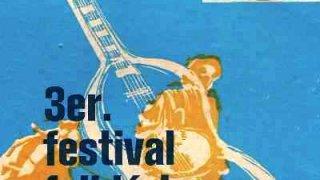 Affiche de l'edition 1971 du Festival folklorico de Patagonia - Punta Arenas