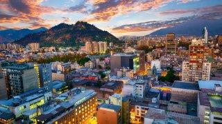 La région de Santiago du Chili
