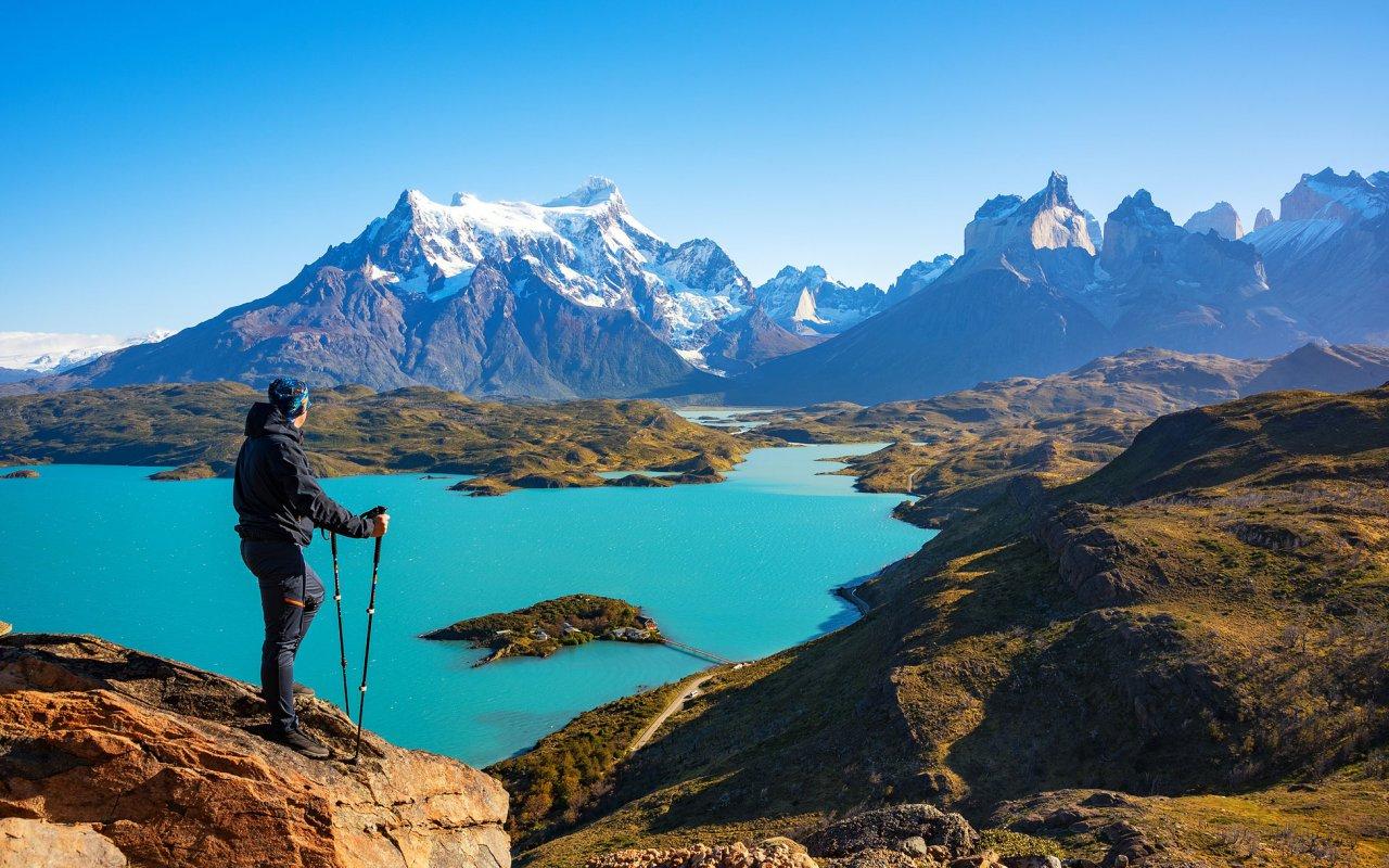 Ascension d'un massif au Chili