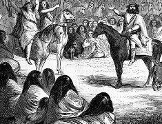Antoine de Tounens convainc les Mapuche