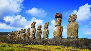 La mystérieuse île de Pâques