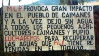 Caimanes contre Minera Los Pelambres