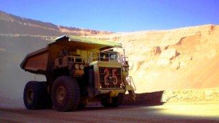 Camion mine de Chuquicamata