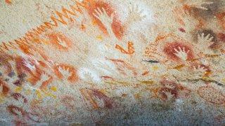 Peintures rupestres à Cueva de las Manos - Chili