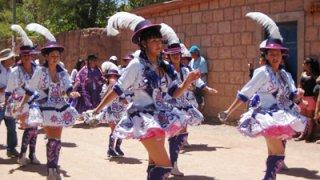 Danses traditionnelles - fete de la candelaria