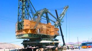 Exploitation minière à Chuquicamata