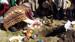 La fête de la Pachamama