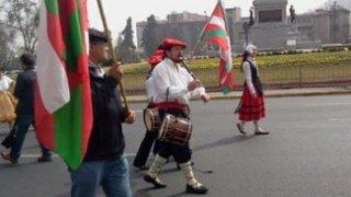 Folklore basque à Santiago - Chili