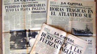 la propagande argentine lors de la guerre des malouines