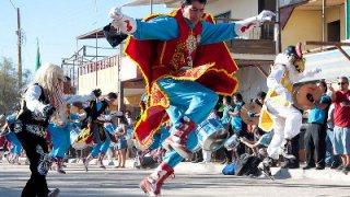 Pase de salto - Fête la Tirana - Nord du Chili