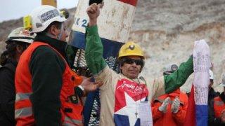 Opération de sauvetage des 33 ouvriers miniers en 2010