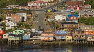 Palafitos sur l'Ile de Chiloé
