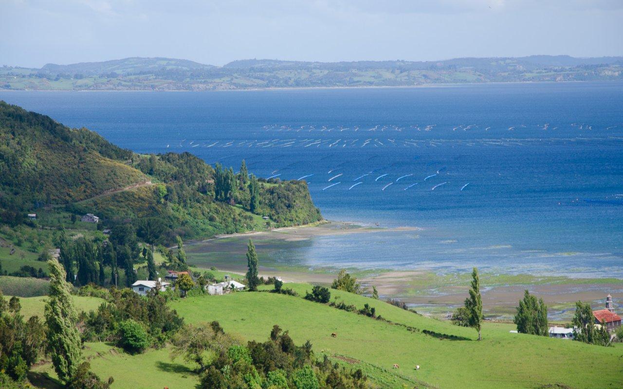 Paysage sur l'Ile de Chiloé