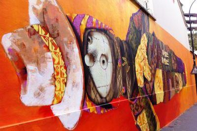 Peinture murale d'Inti Castro