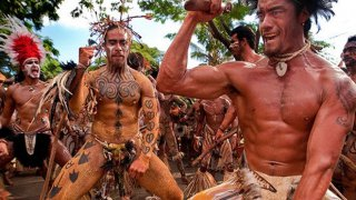 Peuples indigenes danseurs rapanuis