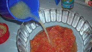 préparation du curanto