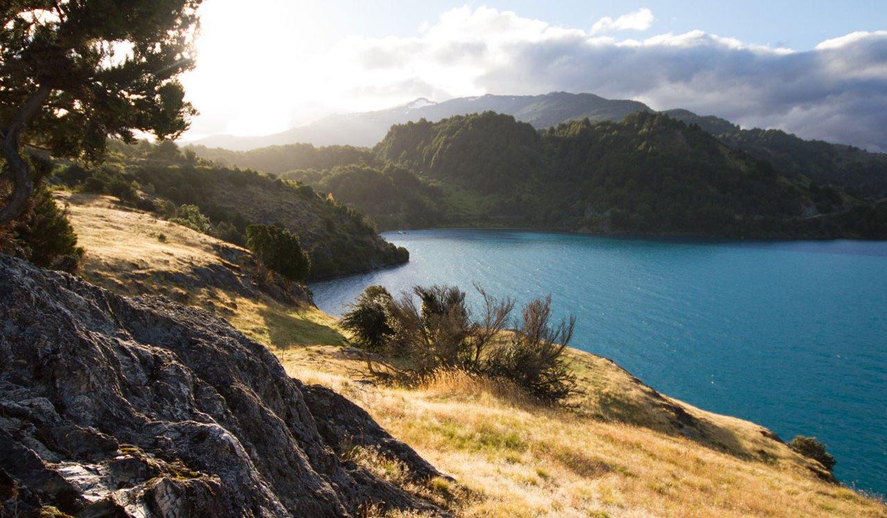 Puerto rio tranquilo, Chili
