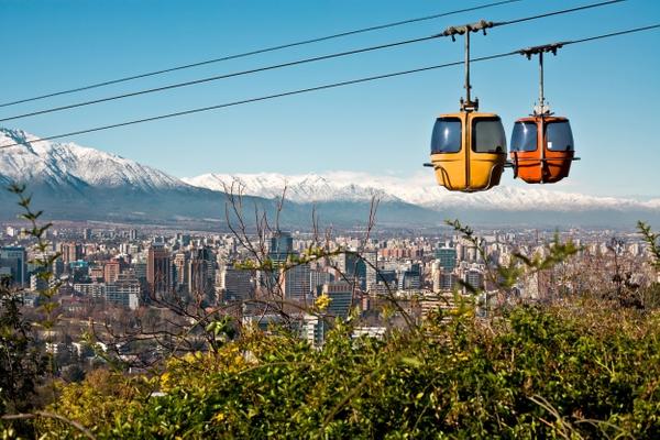 Santiago du Chili & sa région