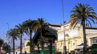 Gare centrale des trains à Santiago du Chili