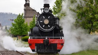 locomotive du train de l'araucanie