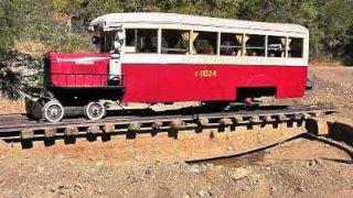 train transandino los andes - rio blanco, au Chili