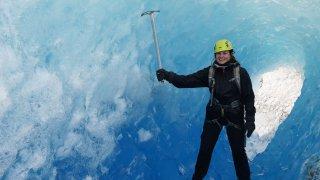 Tunnel de glace - Terra Chile