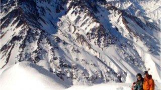 Montagne de la valle nevado